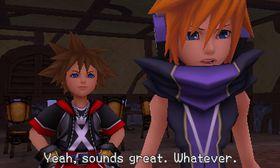 Kingdom Hearts 3D: Dream Drop Distance.