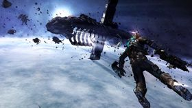Sånn går det om du får hosteanfall medan du spelar Dead Space 3 med Kinect.