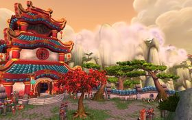 World of Warcraft: Mists of Pandaria.