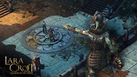 Skjermbilete frå Lara Croft: Guardian of Light.