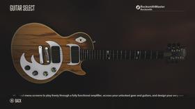 Etter kvart som du spelar kan du låse opp ulike instrument og effekter i ei simulert gitarsamling.