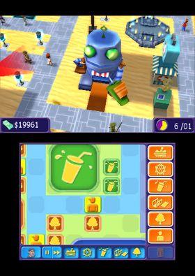 Brukergrensesnittet fungerer greit på en 3DS XL, men føles litt trang og uoversiktlig på en vanlig 3DS