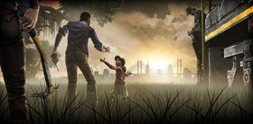 Flere og flere spill fokuserer på historiefortelling. Her: The Walking Dead.