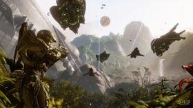 Skjermbilde fra Halo 4.