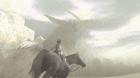 Wander og Agro jakter på en koloss.