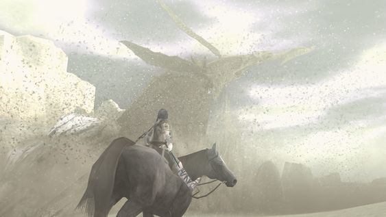 ICO & Shadow of the Colossus Classics HD (Bildet er av Shadow of the Colossus).