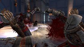 Blodig skjermbilete frå Dragon Age II.