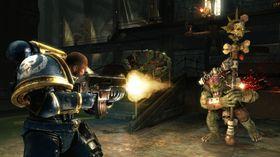 Skjermbilete frå Warhammer 40.000: Space Marine.