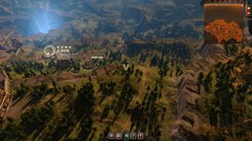 Som i mange JRPG-spill navigerer du rundt på et verdenskart, med tilfeldige kamper underveis.