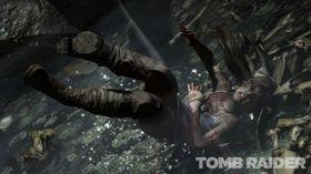 Bilder fra nye Tomb Raider.
