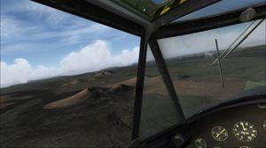 Microsoft Flight Simulator X med noen tilleggspakker.