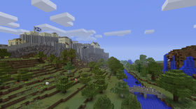 Noen liker å lage store slott.