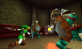 The Legend of Zelda: Ocarina of Time er litt skummelt, litt utfordrende og samtidig veldig spennende.