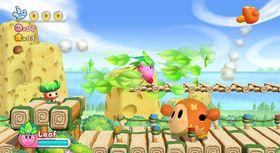 Stort søtere enn Kirby's Adventure Wii får det neppe blitt – men spillet er like morsomt for liten som for stor.
