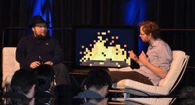 Minecraft-skaper Markus «Notch» Persson er også på plass.