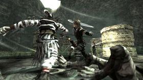 Kampsystemet i The Last Story er i sanntid, ulikt mange andre rollespill fra Japan.