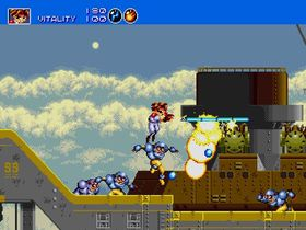 Gunstar Heroes ble en favoritt hos mange Mega Drive-eiere.