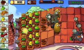 Plants vs. Zombies.