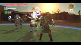 The Legend of Zelda: Skyward Sword.