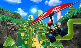 Luftige svev for Mario.