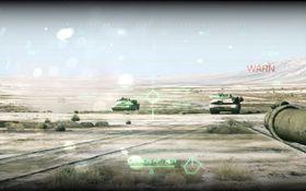 To flotte M1 Abrahms i den arabiske ørkenen. Sexy!