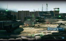 Stillingsrydding med stridsvogn. Effektivt!