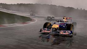 Regnvær er svært imponerende i spillet.