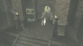 Mystisk slott.