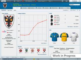 Dybdeinformasjon er aldri langt unna i Football Manager 2012.