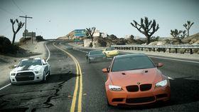 Fullversjonen av spillet kommer med svært mange, ulike biler.