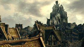 Sånn kan en by i Skyrim se ut.