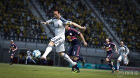 EA imponerte Marius på Gamescom. Skjermbilde fra FIFA 12.