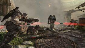 Storserien Gears of War.
