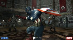 Captain America: Super Soldier.