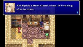 Som i mange andre Final Fantasy-spel står krystallar i fokus