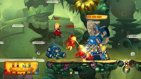 Et av de første bildene fra spillet.