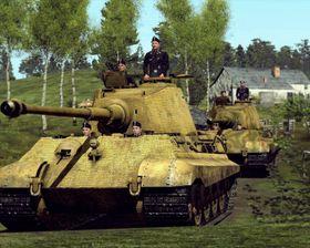 Jeg vil ha en stridsvogn.