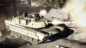 Alltid moro med stridsvogner.