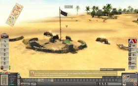 Britiske kommandosoldater har inntatt en fiendtlig stilling og etablerer ildbase.