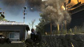 En flyvende og brennende koreansk invasjonssoldat er en god soldat!