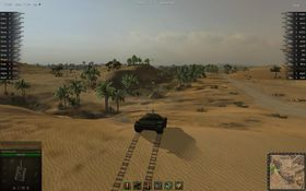 Leksjon i hvordan man ikke plasserer seg i terrenget med en stridsvogn.