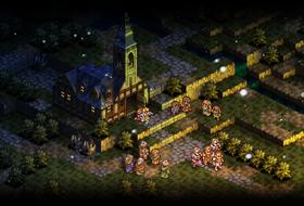 Spelet maktar å byggje opp ei imponerande stemning gjennom enkel grafikk