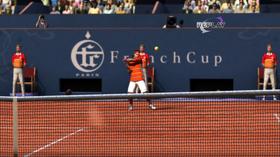 Tennis i første person.