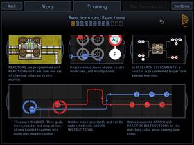 Spillet har innebygde infoskjermer.