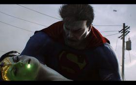 Wonder Woman har vist brukt kryptonitt som tannkrem i dag.