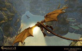 Senere i spillet kan du selv forvandle deg til en drage.