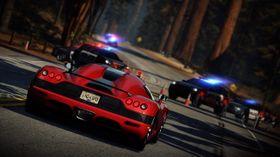 Her kjører de fort og ulovlig.