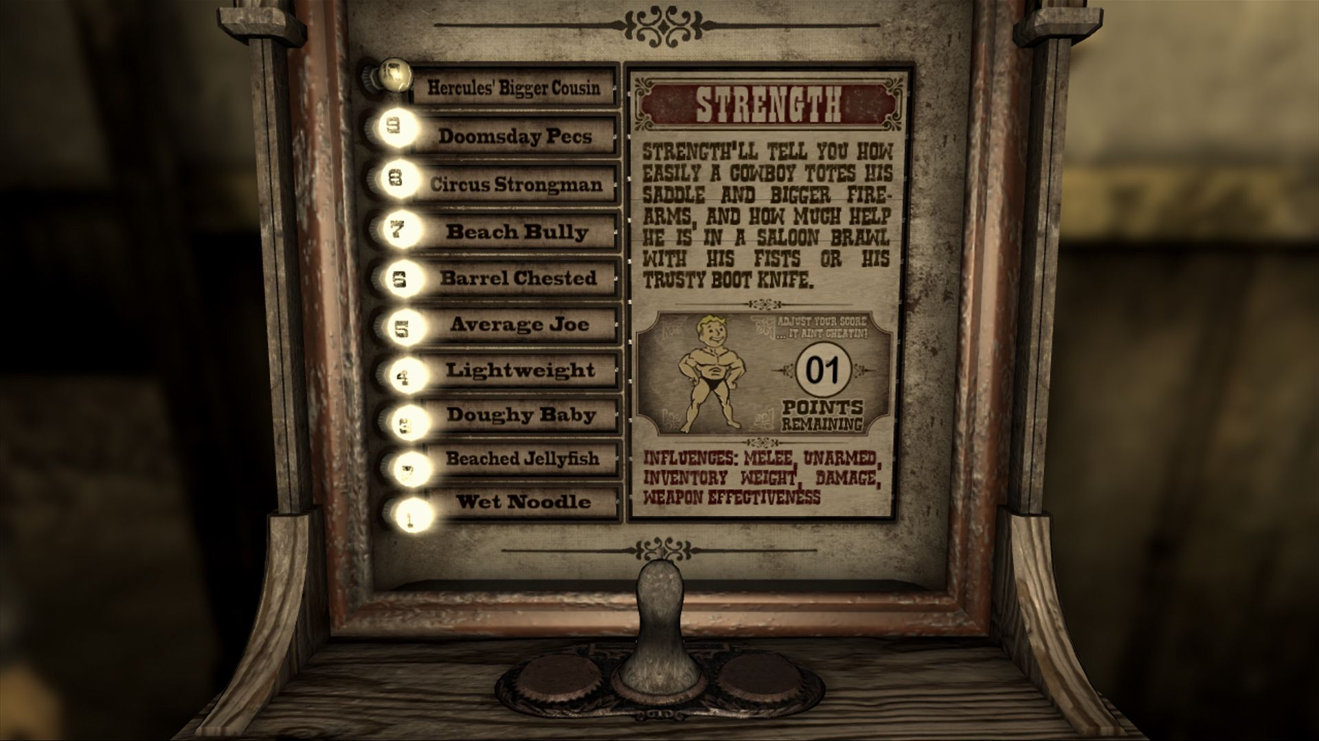 Fallout New Vegas Starting Special Builds