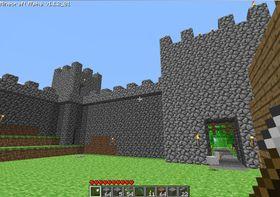 Bygg ditt eget slott i Minecraft.