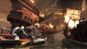 Dette spillet har mange hektiske actionscener.